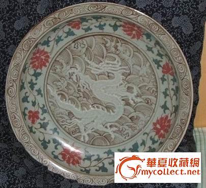 大龙盘_大龙盘鉴定_来自藏友春天_陶瓷鉴定_明清陶瓷