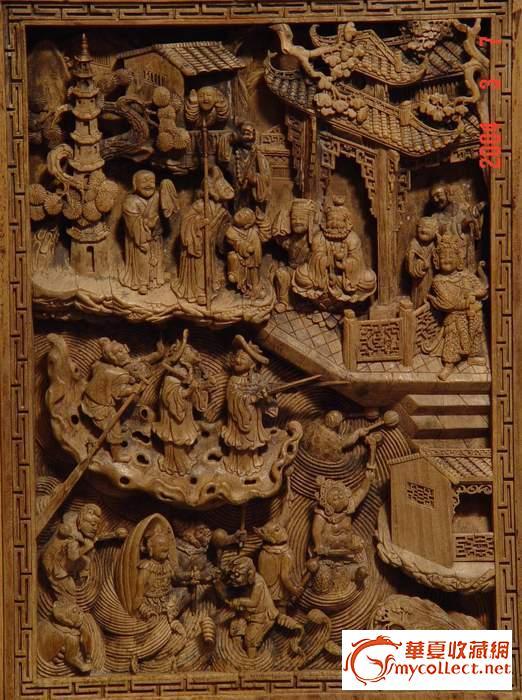 木雕极品----插屏