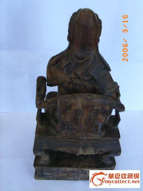 明代关羽雕像