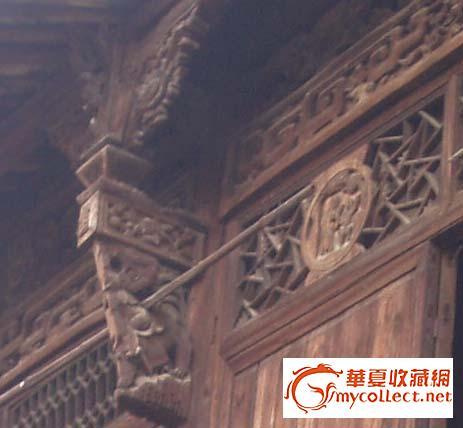 房梁,柱,牛腿以及门窗等整套木结构房架