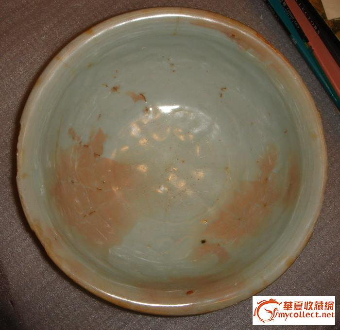 叶佩兰范瓷元青花牡丹纹大碗