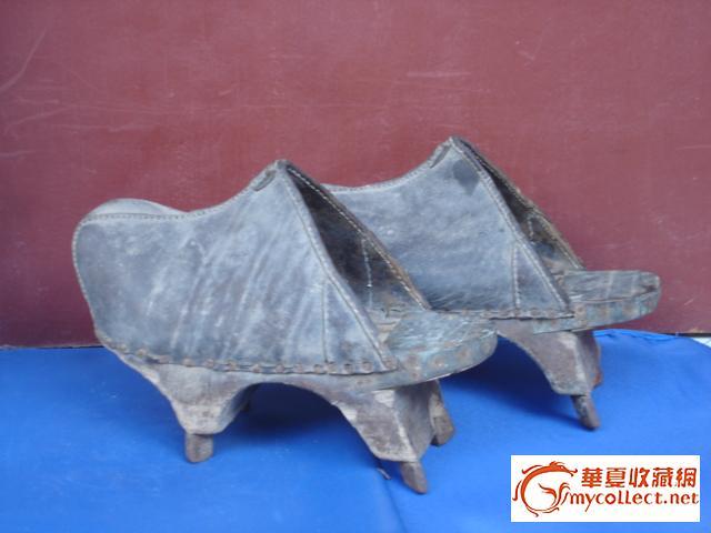 清朝妃子鞋子图片