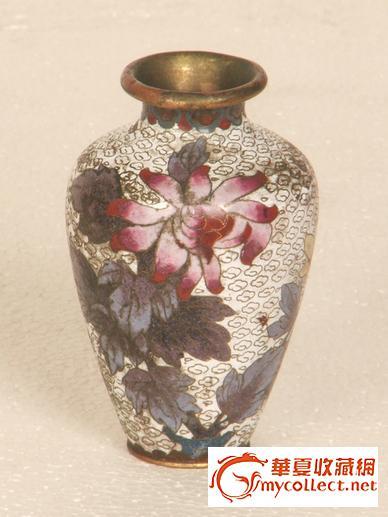 民国掐丝珐琅彩花瓶