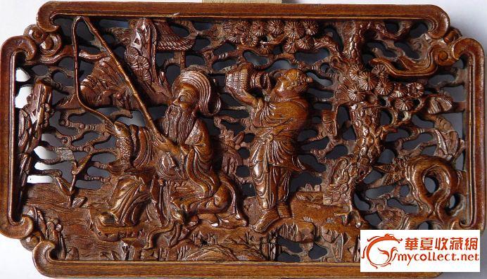 朱金桶,木雕,黄花梨(黄檀)笔筒,牙雕-图2