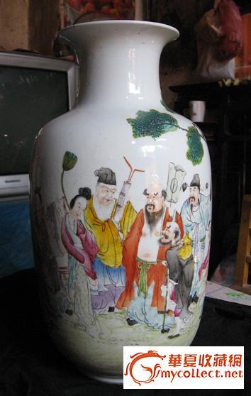 八仙过海瓷瓶,来自藏友bf-陶瓷-明清-藏品鉴定估价