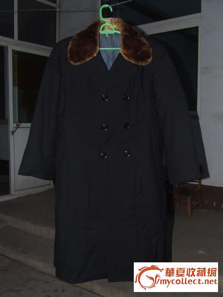 野生水獭领子.野生狐皮大衣.请估价.珍藏48年.保存完好.图片