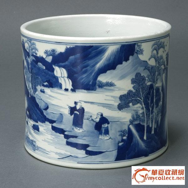 中华美瓷 - 笔筒    1 - h_x_y_123456 - 何晓昱的艺术博客