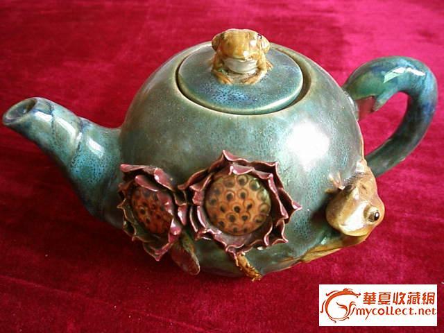 古代茶壶和镀银钵各一只请评赏