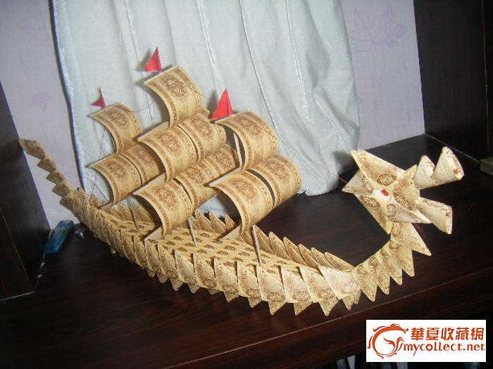 帆船小制作图解