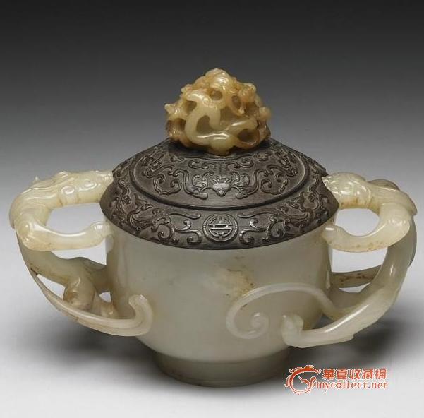 古代圆桶形玉器