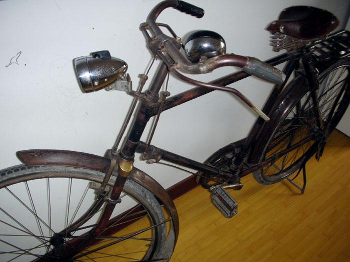 老款日本富士自行车图片