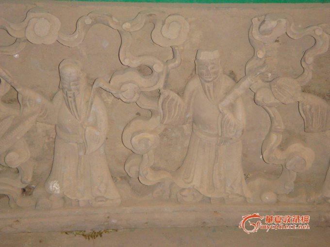 八仙过海雕花大板