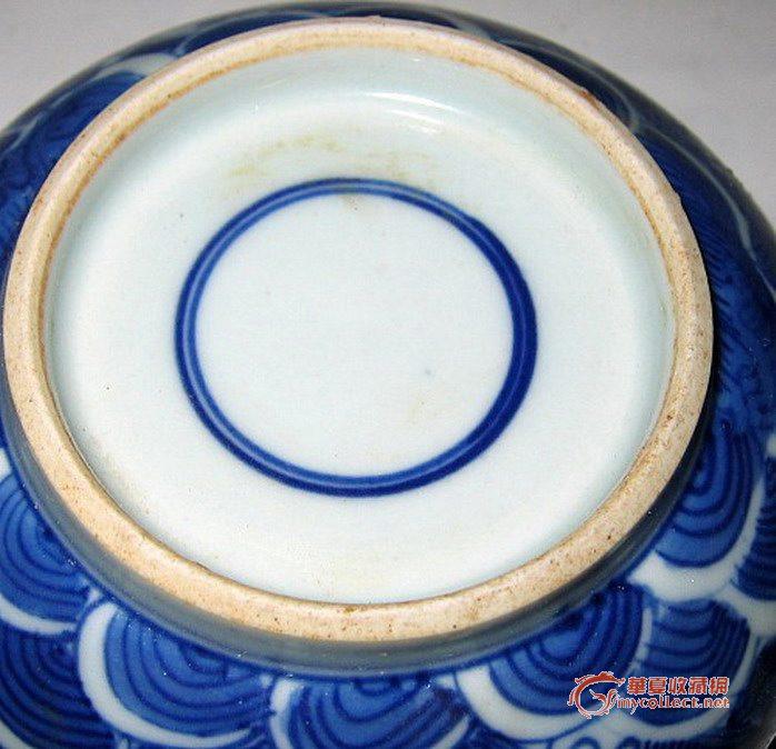 青花瓷加紫瓷罐,来自藏友3黄鸡-瓷器-明清-藏品鉴定估价-华夏收藏网图片