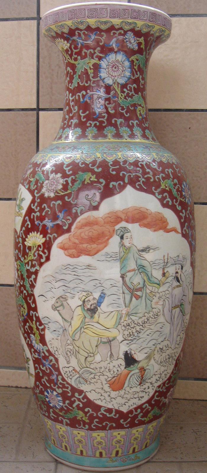 八仙过海瓶_八仙过海瓶鉴定_来自藏友chq542_陶瓷鉴定
