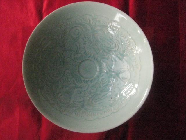 宋影青瓷碗-图1