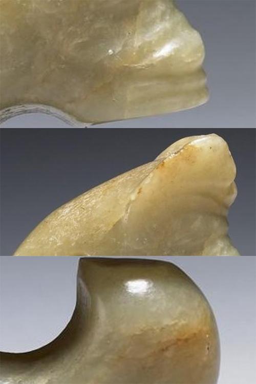 请欣赏:馆藏红山玉猪龙图片