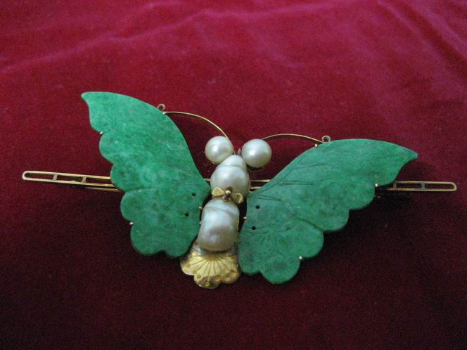 蝴蝶身体部分结构