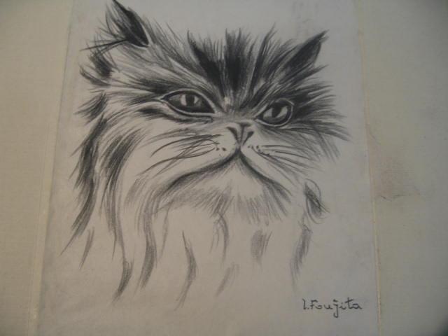 foujita的素描-猫