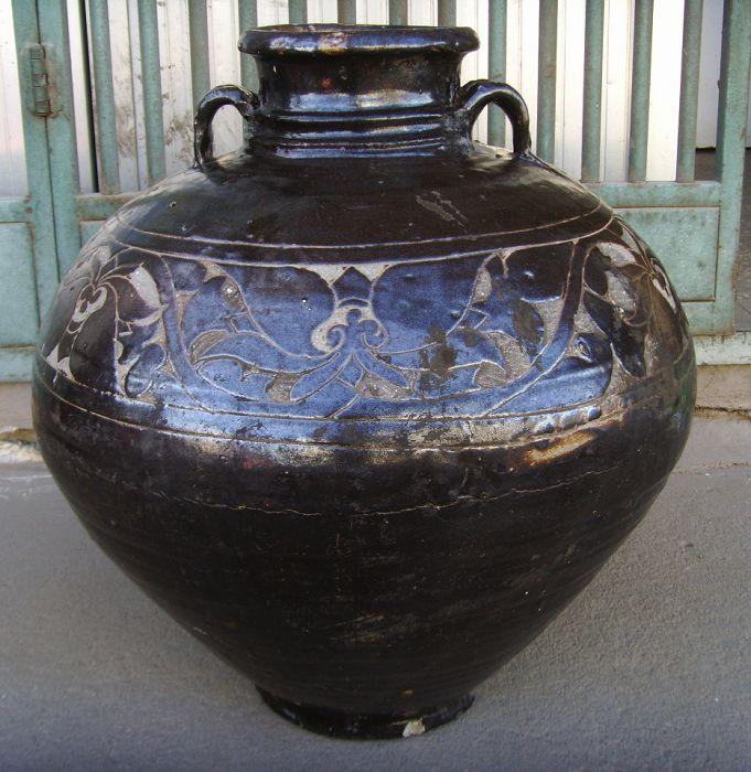 古代酒坛简笔画