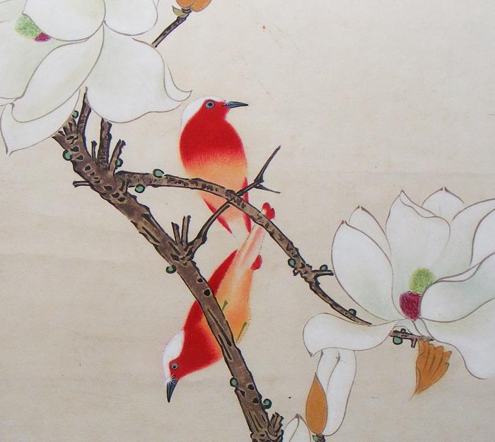于非闇(1887-1959)是近现代中国画史上致力于工笔花鸟画研