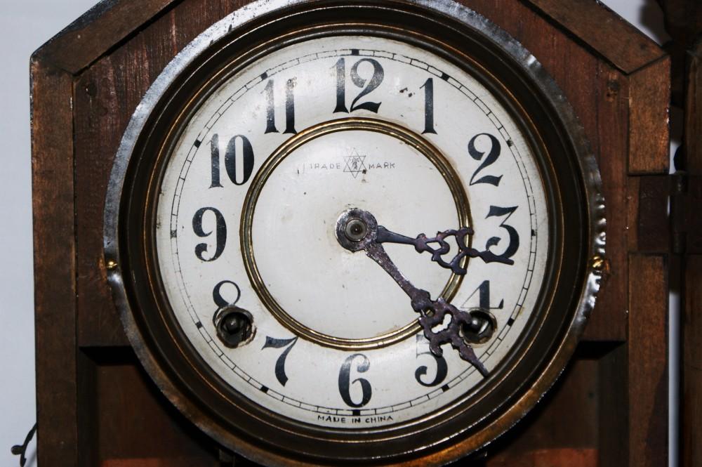 钟表简笔画半点