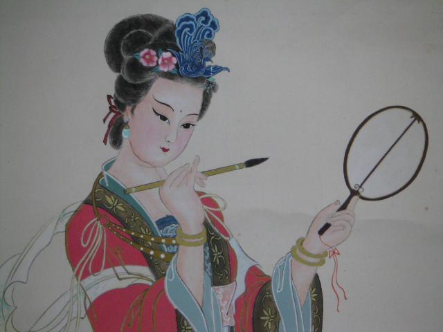工笔画:文成公主