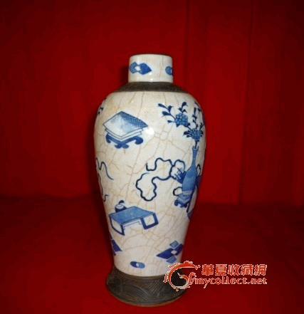 青花瓷花瓶