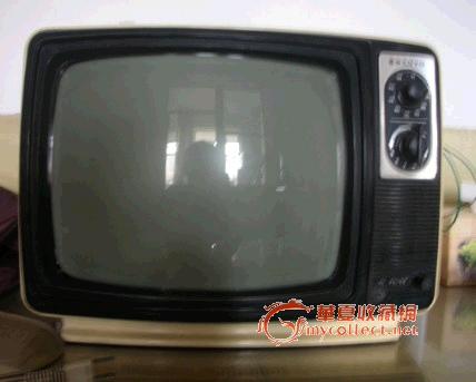12寸三洋黑白电视机