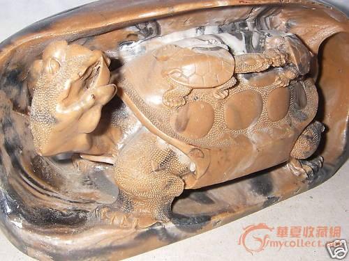 大小乌龟 是石头雕还是