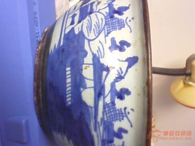 手绘人鱼盆