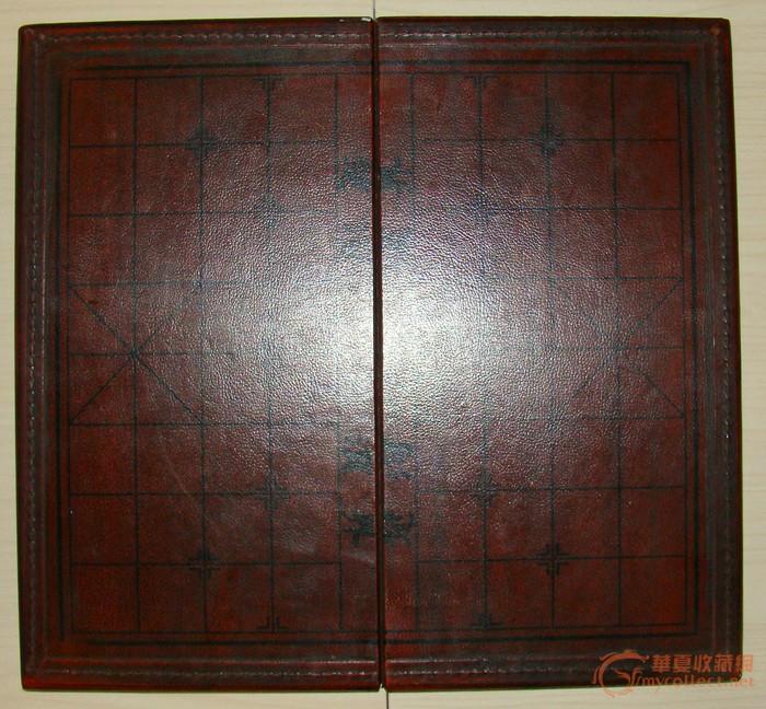 老皮箱,棋盘,檀木象棋