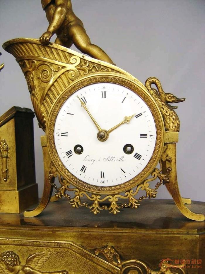 欧式带大象挂钟