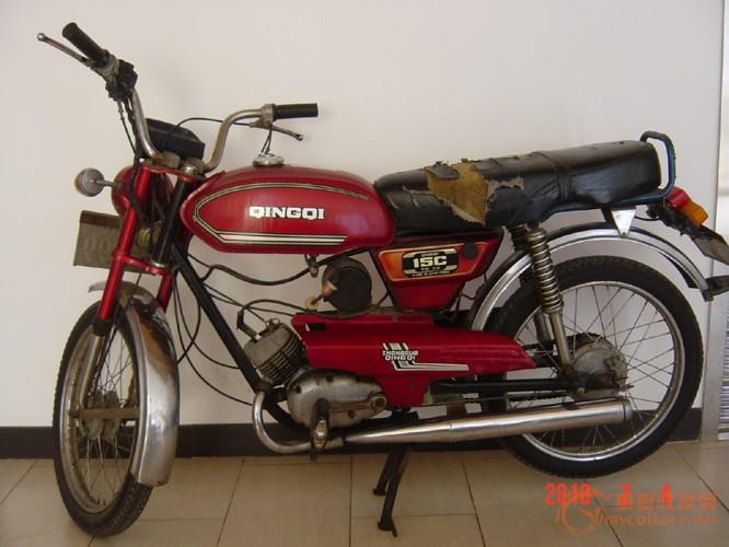 济南轻骑15c摩托车