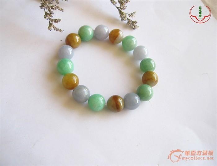 慕名珠宝:多色珠子手链