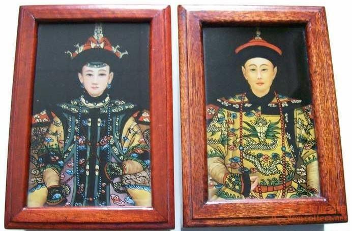 皇帝和皇后的画像