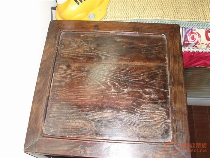 老鸡翅金丝楠木面的一个方桌