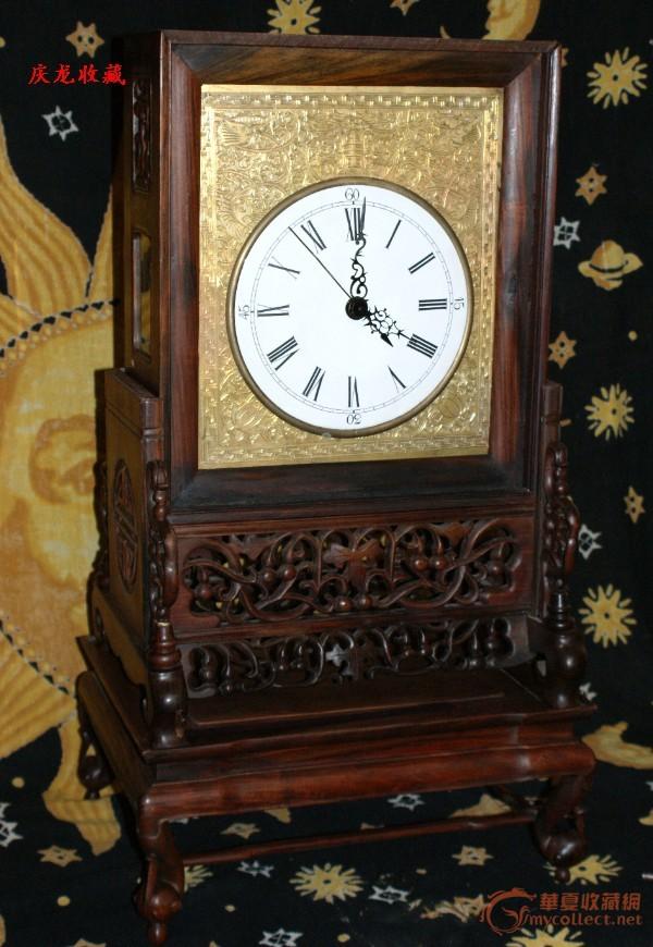 这种丁字轮圆摆钟,在摇晃的环境中也能正常运转