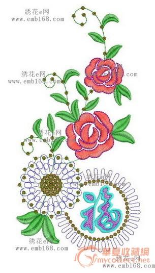 绣花图案-图2