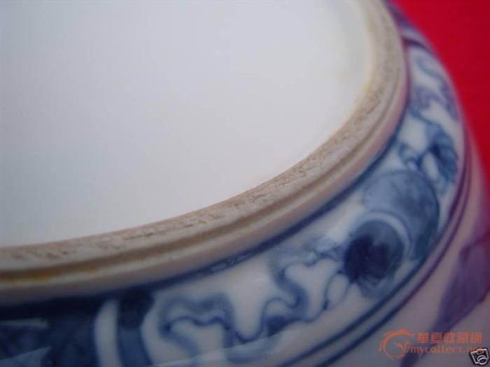 青花大瓷碗一只,請斷代估價