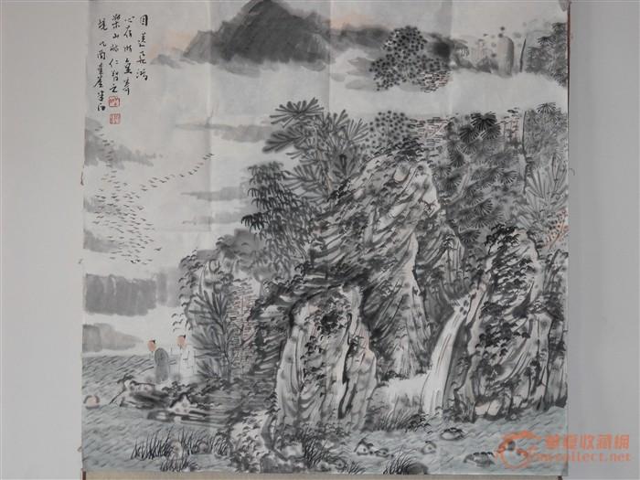 山水画家张捷作品