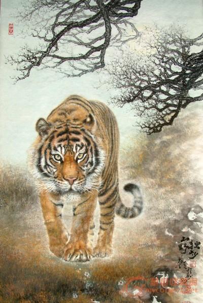 龙工笔画动物白描