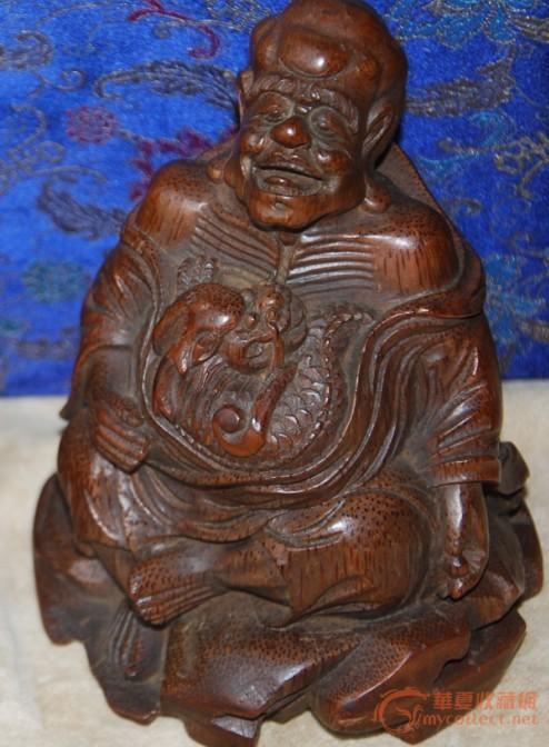 前期上的一套八仙过海竹雕精品,请斑主看仔细啦,本人听朋友介绍