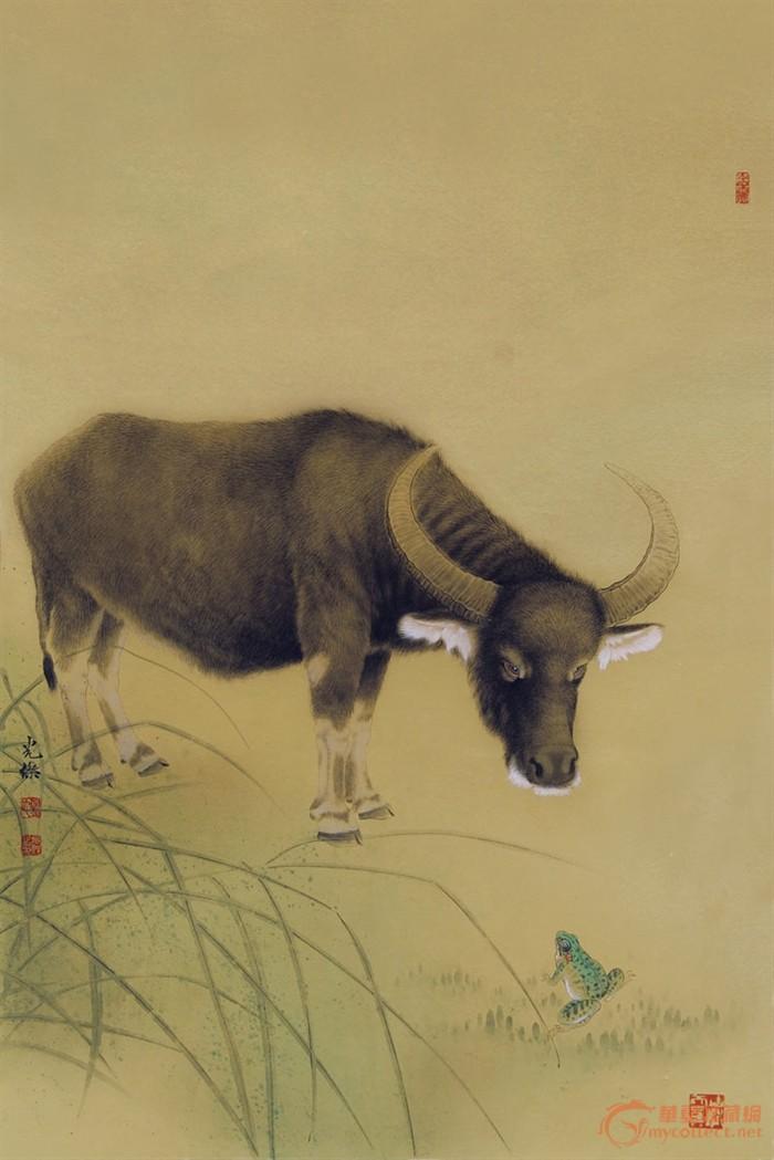 画家刘光杰--工笔动物画系列