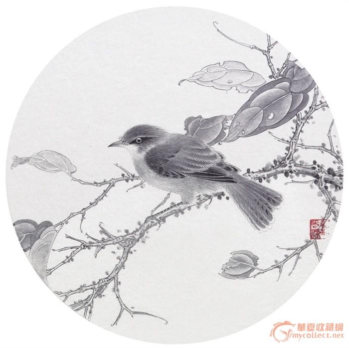 画家刘光杰--工笔花鸟鱼画系列