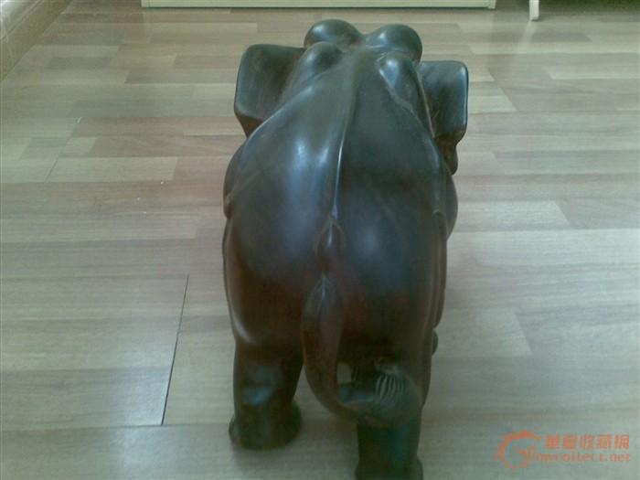 泰国 红酸枝木雕大象