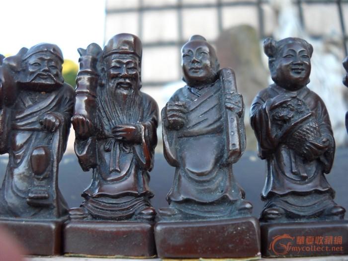 八仙过海人物雕刻