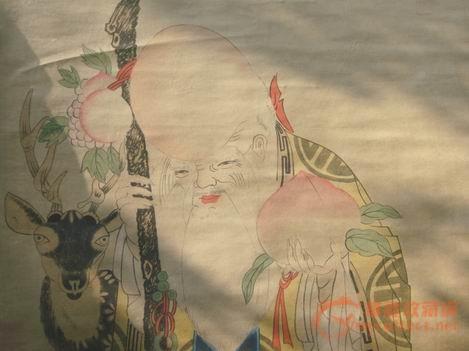 张大千国画-随评,识字藏友天山之字画-神龟-其小学来自教案图片