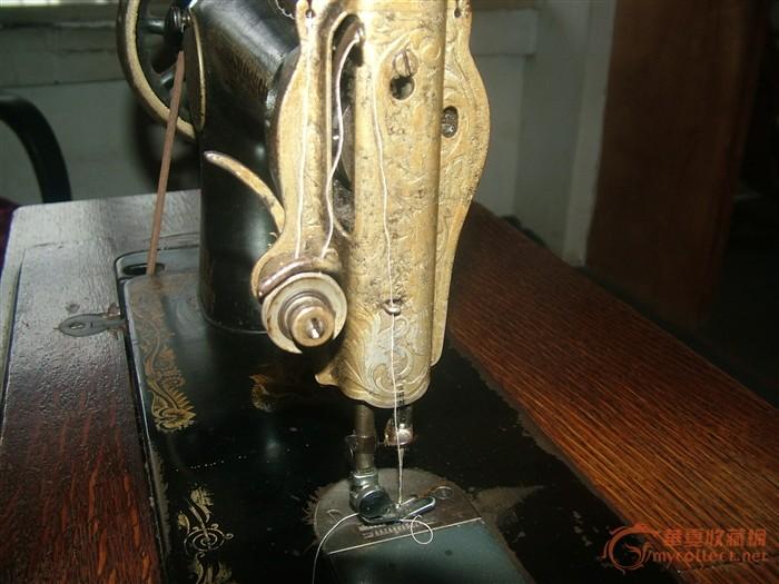 老式缝纫机结构图;