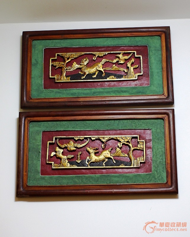 清朝扬州木雕线条图