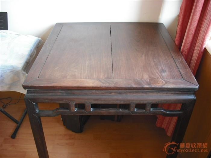 明式桌子手绘图